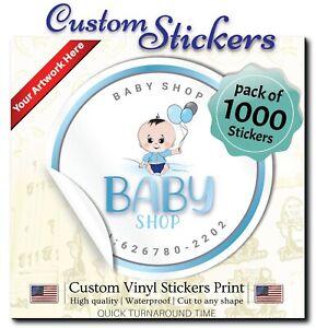 1000-Custom-Stickers-1-034-Stickers-Custom-labels-Waterproof-Vinyl-Stickers