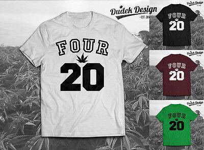 420 Addicted T Shirt Dope Cannabis Wiz Smoke Khalifa Men Women Marijuana Swag