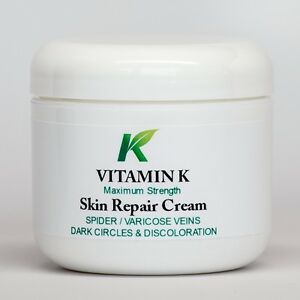 "Spider Varicose Vein Cream Vitamin K ""Extra-Strength ..."