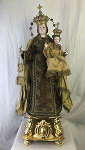 Madonna-Del-Carmine-Mary-Our-Lady-Santo-Vestito-Saint-Santon-67-Cm