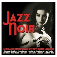 Jazz Noir Various Artists Best Of 60 Mystery, Murder & Mayhem Songs 3 Cd