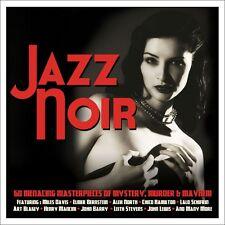 Jazz Noir VARIOUS ARTISTS Best Of 60 Mystery, Murder & Mayhem Songs NEW 3 CD