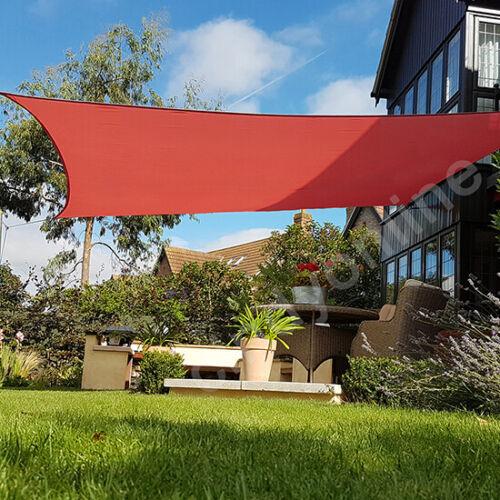 Sonnensegel Quadrat 5 m Sonnenschutz Sonnendach Viereck UV-Schutz 100/% Polyester