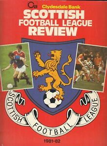 Clydesdale Bank Football League Review 1981/82