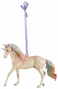BREYER-MAJESTY-UNICORN-ORNAMENT-700651-STABLEMATE-SIZE-UNICORN-SPANISH-HORSE