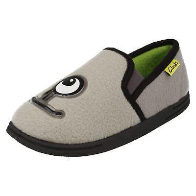 Neueste Kollektion Von Boys Clarks Monster Themed Slippers 'movello Rise' Verpackung Der Nominierten Marke Schuhe Für Jungen