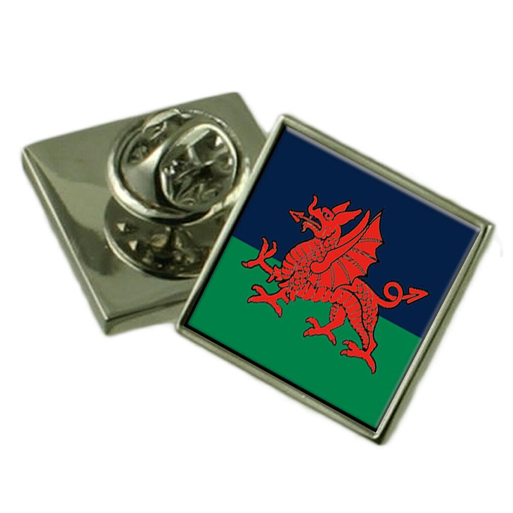 Militare The The The Royal Welsh Trf Spilla per Bavero 79fa87