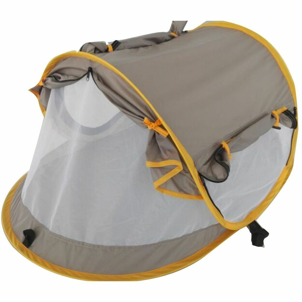 Outdoor Camping Tent For Kids Sun Cover Shelter Mosquito Net Anti-uv Canopy New
