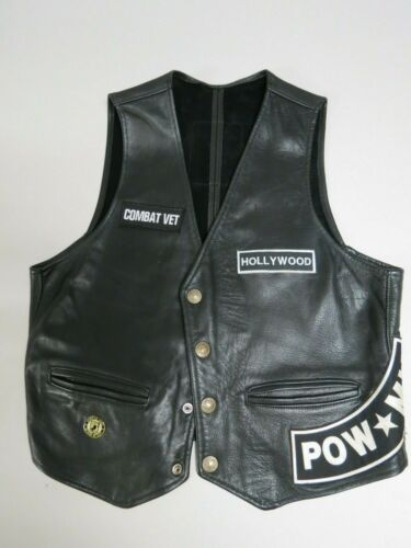 Walter Dyer is Leather Framingham Mass USA 100% le