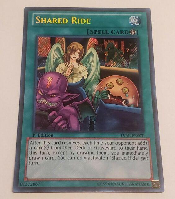 NM Secret Yu-Gi-Oh! Shared Ride mp14-en231 1st Ed