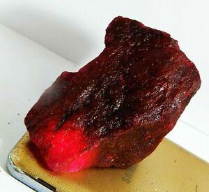 Natural Loose Gemstone 500 Ct Madagascar Red Ruby Quartz Rough