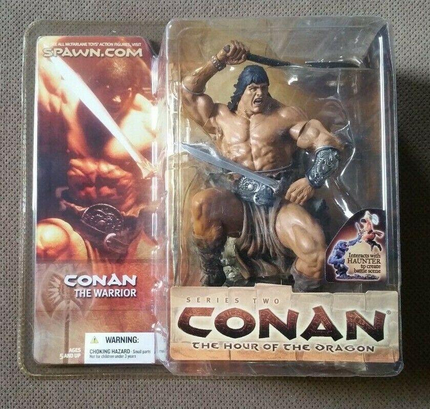 Conan Series 2 CONAN Warrior Action Figur McFarlane Leker Ny 2004