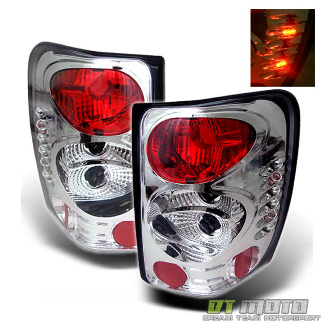 99-04 Jeep Grand Cherokee Tail Brake Lights Lamps Left+Right Pair Aftermarket