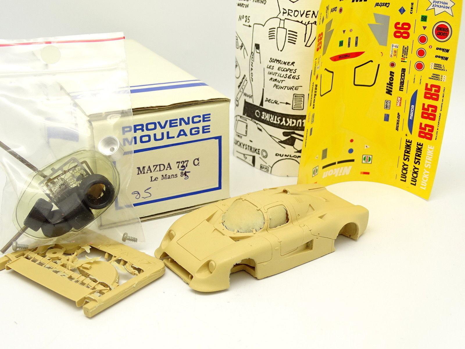 Provence Moulage Kit à Monter 1 43 - Mazda 737 C Le Mans 1985