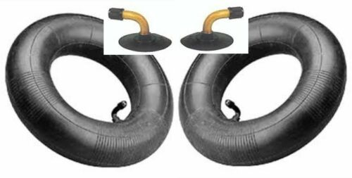 fits carts etc 3.50-8  3.00-8 FIRESTONE Tire Tube TR87 bent  valve A PAIR TWO