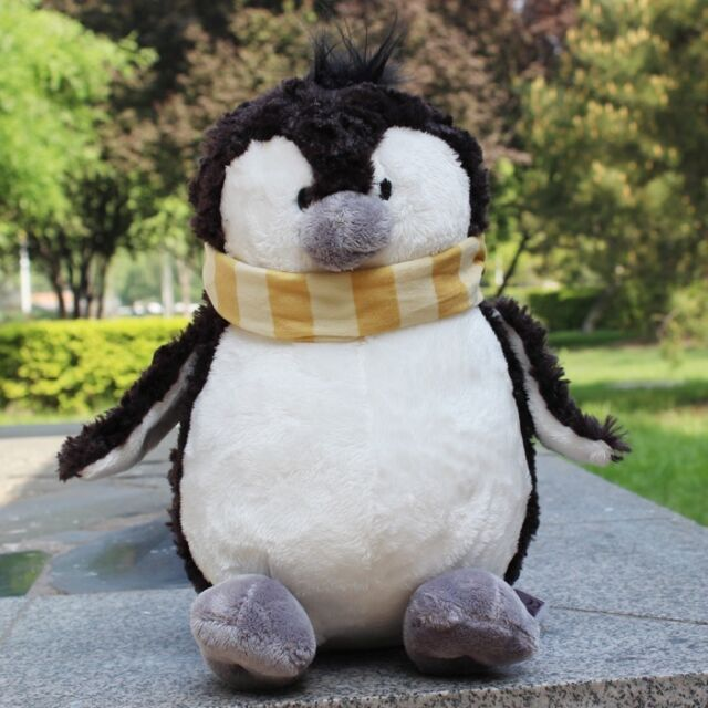 Cute Scarf Snow Baby Penguin Stuffed Animal Soft Toys Plush Doll 35