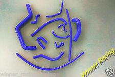 silicone radiator hose Honda Acura Integra B18B1 DB7/DC4 GS/LS/RS 94-01 BLUE