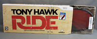 Wii Activision Tony Hawk: Ride Skateboard Bundle Limited Edition Red In Box