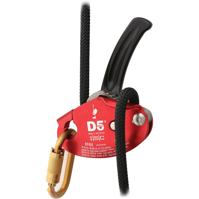 D5 DESCENDER Belay Device for 12.5-13mm Rope by ISC