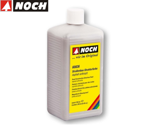 Noch-60826-Strasenbau-farbe-Asphalte-Anthracite-250-ML-100-Neuf-Emballage