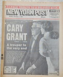 NY-Post-Hollywood-Star-Cary-Grant-Final-Hours-Before-his-Death-1986-Newspaper
