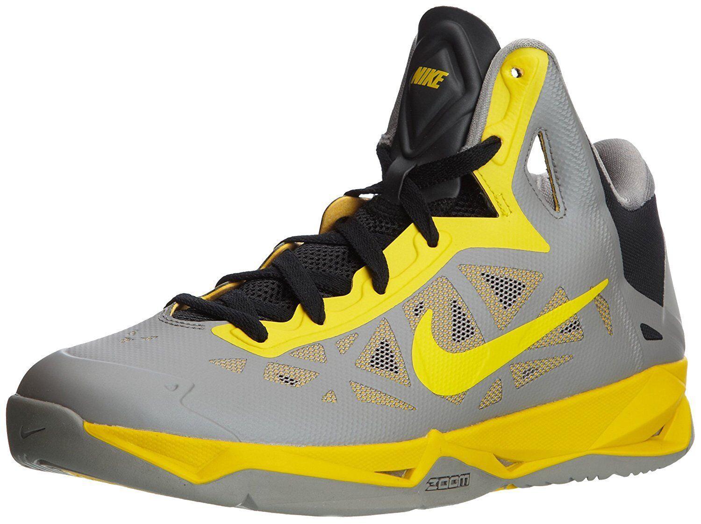 Gli uomini sono nike zoom hyperchaos scarpe da basket, 536841 007 taglia 12 grey / zolfo / blac