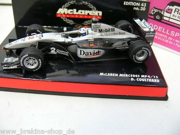 1 43 Minichamps McLaren Mercedes mp4 15 Coulthard 2000 530004302