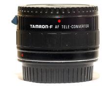 Tamron AF 7 Element 2x Teleconverter Lens Canon EOS EF Digital and Film