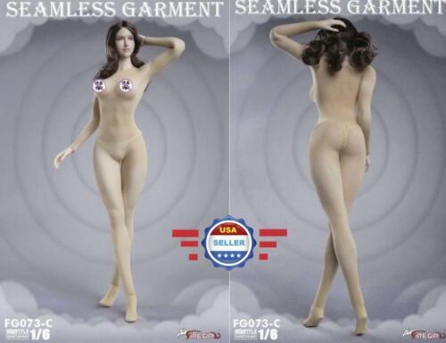 "1//6 Seamless Bodysuit Underwear Garment Set C For 12/"" Female Action Figure Doll"