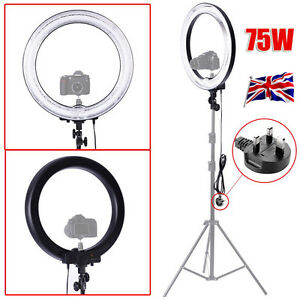 UK-Neewer-Camera-Photo-Video18-034-600W-5500K-Dimmable-Ring-Fluorescent-Flash-Light