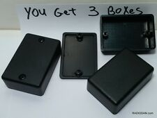 Small Black Abs Plastic Electronic Project Box Enclosure Case Usa