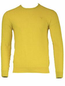 GANT-Men-039-s-Mango-O1-Cotton-Texture-Crew-88543-Size-Medium-NWT