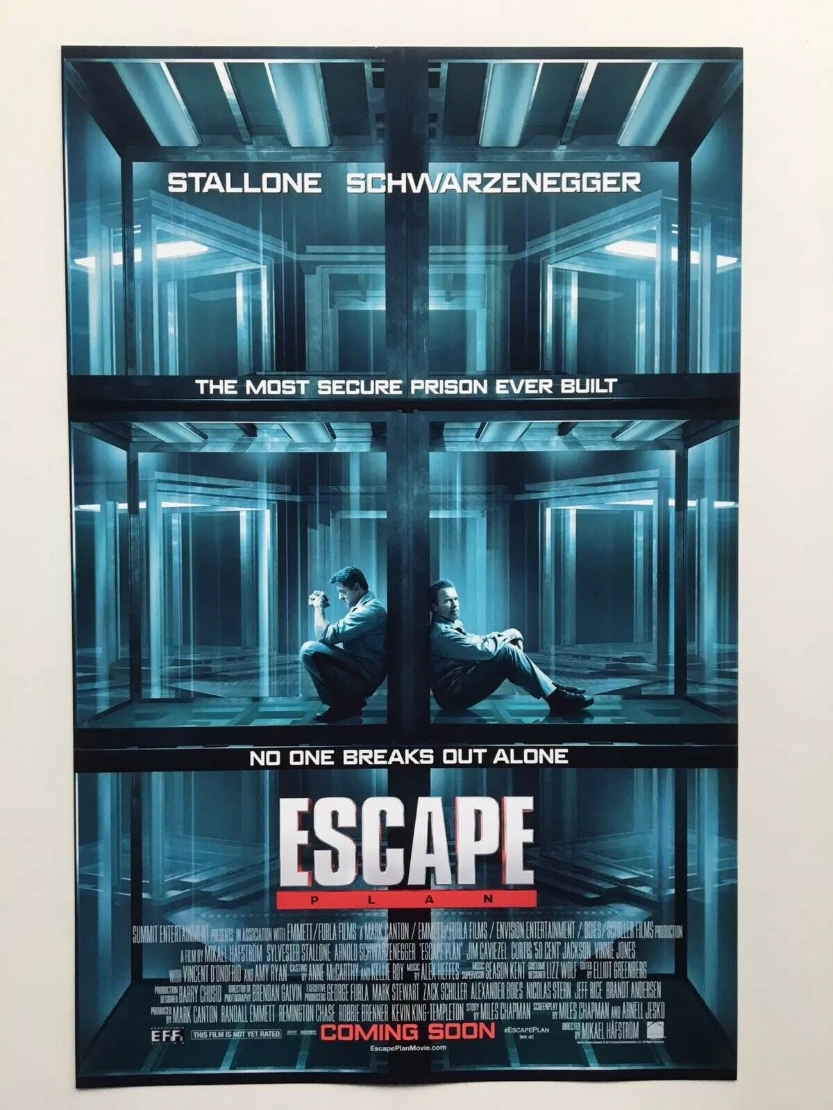 Escape Plan 11x17 Movie Poster 2013