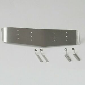 Para-Tamiya-Radio-Control-1-14-King-Hauler-Cabina-Camion-LESU-Placa-Metal-Aluminio-Visera-De-Sol