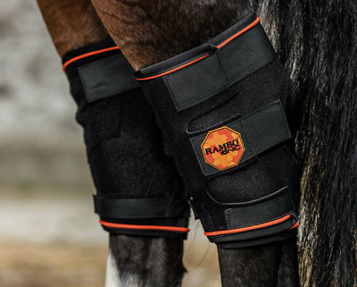 Horseware Rambo IONIC Circulation Therapy STABLE BOOTS Arthritis//Stiff//Injury