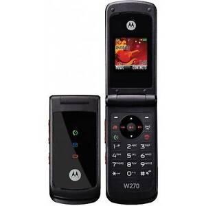 Handy-Motorola-W270-Black-Schwarz-NEU-amp-OVP-Ohne-Vertrag