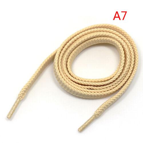 2 Pair Thick Flat Fat Shoe Laces Wide Shoelaces All Shoe Types TDO