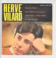 "Hervé VILARD Vinyle 45 tours EP 7"" JEAN NOEL, C'EST NOEL - MERCURY 152042 RARE"