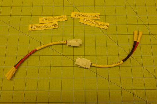Coleman popup camper battery plug prewired 4716-4701