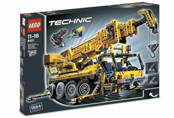 Lego Technic Construction 8421 Mobile Crane -  Nuovo SEALED