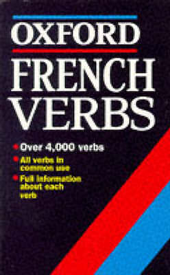 (Good)-French Verbs (Oxford Mini Reference) (Paperback)-William Rowlinson-019282