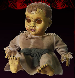 haunted-Baby-doll-prop-with-sound-Halloween-Spooky