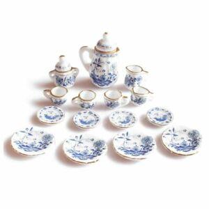 1-12eMe-Salle-a-Manger-Porcelaine-Porcelaine-Ensemble-de-The-PoupeEs-Maison-Mi