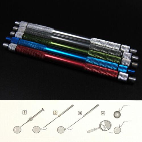 4farben Alloy Karpfenangeln Köder-Werkzeug  machen Rigs Drill Haken-Nadel-Gerät/&
