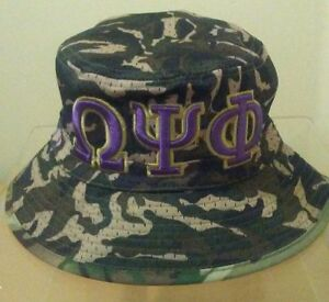 c7108e38c75 Omega Psi Phi Bucket Hat Camo (S M 7 1 8 to 7 3 8) or (L XL 7 1 2 to ...