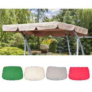 Replacement Canopy For Swing Seat Top Cover Garden Hammock ...