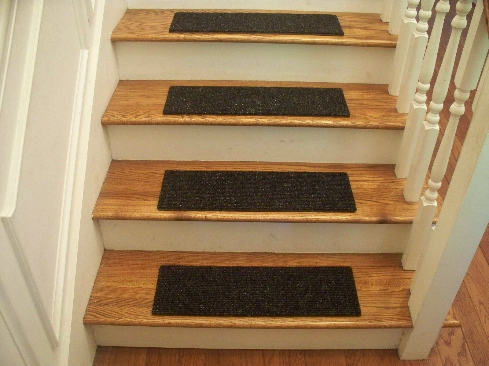 Premium Carpet Stair Stair Stair Tread Sets - Object Charcoal - 30  x 8  084c40