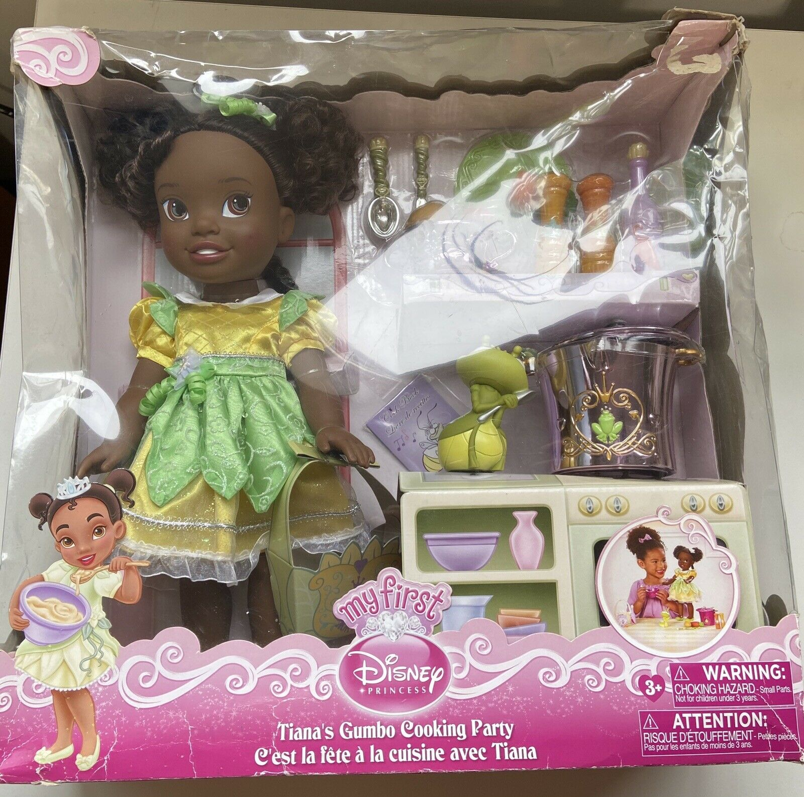 My First Disney Princess Tiana S Gumbo Cooking Party Ray The Nightfly For Sale Online Ebay