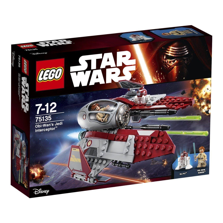 Lego Star Wars™ 75135 Obi-Wan' S Jed Interceptor™ Nuovo Confezione Originale