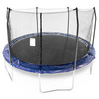 Skywalker Trampolines 15' Round Trampoline with Lighted Spring Pad